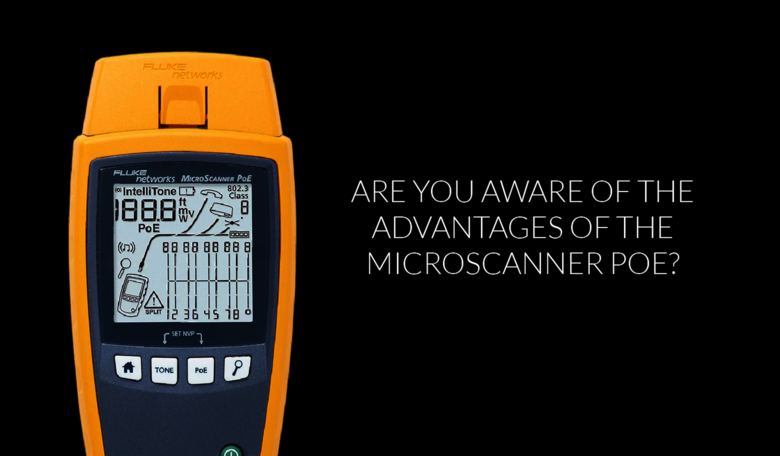 Are you aware of the advantages our MicroScanner POE?