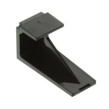 PANDUIT SINGLE MINI-COM MODULE BLANK - BLACK