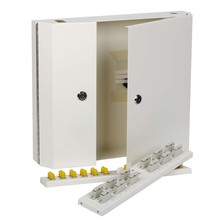 DOUBLE LOCKING FIBRE OPTIC WALL BOXES