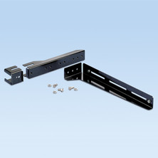 PANDUIT ADJUSTABLE LADDER QUIKLOCK BRACKET FOR 12X4 SYSTEM TO ATTACH TO LADDER RACK RAIL