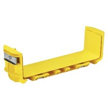 PANDUIT PRE-ASSEMBLED COUPLER QUICKLY JOINS 2 SECTIONS OF CHANNEL AND-OR FITTINGS YELLOW 12 X 4