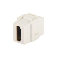 PANDUIT NETKEY KEYSTONE MODULE SUPPLIED WITH ONE HDMI COUPLER - ELECTRIC IVORY