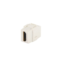 PANDUIT NETKEY KEYSTONE MODULE SUPPLIED WITH ONE HDMI COUPLER - BLACK