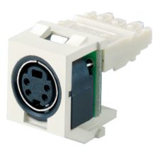PANDUIT NETKEY KEYSTONE MODULE SUPPLIED WITH SVHS PUNCHDOWN CONNECTOR