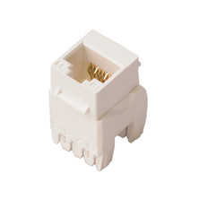 NENCO CAT5E UTP JACK WITH IDC CAP - WHITE