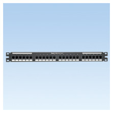 PANDUIT 24-PORT, CATEGORY 5E, PATCH PANEL WITH 24 RJ45, 8-POSITION, 8-WIRE PORT