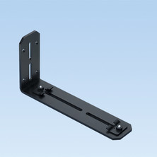 PANDUIT L WALL MOUNT QUIKLOCK BRACKET FOR 6X4 AND 4X4 SYSTEMS
