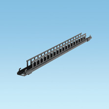 WYR-GRID BLACK BRACKET TO SUPPORT 30 INCH (762MM) WIDE  PATHWAY FROM CEILING USING 1/2 INCH OR 12MM THREADED ROD DROPS.