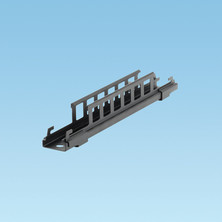 WYR-GRID BLACK BRACKET TO SUPPORT 12INCH (305MM) WIDE PATHWAY FROM CEILING USING 1/2INCH OR 12MM THREADED ROD DROPS