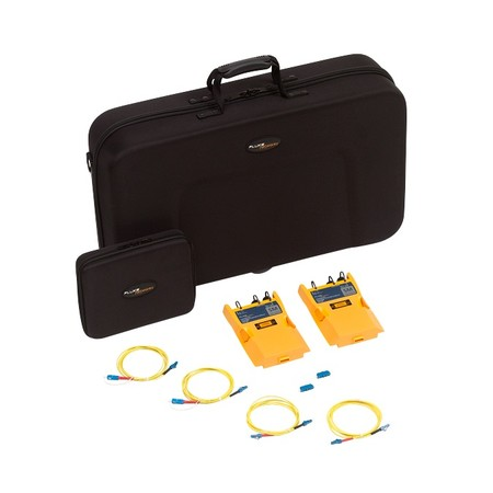 VERSIV CFP-100 CERTIFIBER ADD ON KIT WITH 2 SINGLEMODE OPTCIAL LOSS TEST MODULES AND TEST REFERENCE CORD KIT