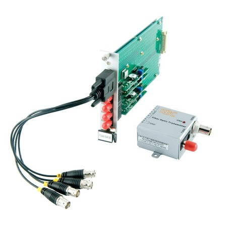 VIDEO ONLY TRANSMITTER, 1 MM FIBRE ST, COMPACT
