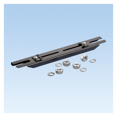 PANDUIT TRAPEZE QUIKLOCK  BRACKET FOR 6X4 AND 4X4 SYSTEMS FOR SPANNING TWO 12MM THREADED ROD DROPS
