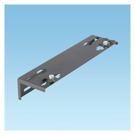 WYR-GRID BLACK BRACKET TO SUPPORT END OF 12 INCH (305MM) PATHWAY AGAINST THE WALL